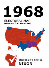1968 Election - WI Results | Presidential Elections | Online ...