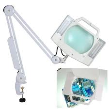 5x desk table clamp mount magnifier lamp light magnifying