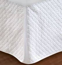 Greenland Home Fashions Diamond Quilted Bed Skirt Queen | eBay & item 3 WHITE DIAMOND QUILTED Twin Full Queen King BEDSKIRT - COTTAGE STITCH BED  SKIRT -WHITE DIAMOND QUILTED Twin Full Queen King BEDSKIRT - COTTAGE STITCH  ... Adamdwight.com