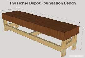 diy bench diy patio furniture