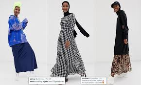 Salma Designer Abaya House London Asos Launch Modest Fashion Line That Features Hijabs And