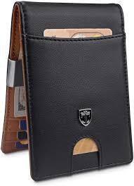 Designer Money Clip Wallet With Card Holder Travando Money Clip Wallet