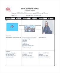 Printable Story Board Media Storyboard Examples Template For Resume ...
