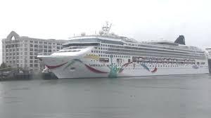 norwegian cruise ship headed to boston after running aground near bermuda