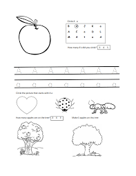 printable letter worksheets for 3 year olds preschool at home ...