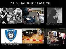 Criminal Justice Major Meme. Put together by me. :) | Criminology ... via Relatably.com