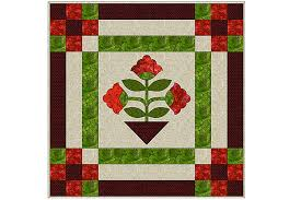 Easy Applique Quilt Pattern Made with Fusible Web &  Adamdwight.com