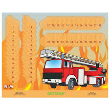Ortopad Patching Reward Poster Fire Truck