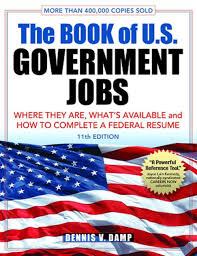 The Book Of U S Government Jobs Where They Are What S Available