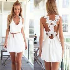 Shop Spring and <b>Summer Hot Style</b> Women <b>Fashion</b> White Beach ...