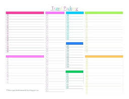 Blank Checklist Template Pdf Blank Monthly Checklist Template