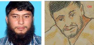 Fazliddin Kurbanov. Left: mass media-circulated photo following his arrest; right: courtroom sketch. One can only guess which of the two Kurbanovs is the ... - fkurbanov1