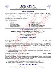 Registered Nurse Resume Templates Free New Graduate Resume Best ...