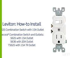 9 practical how to wire an electrical outlet diagram photos tone how to wire an electrical outlet diagram leviton presents to install a combination device