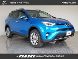 2018 New Toyota RAV4 Hybrid Limited AWD at Kearny Mesa Toyota ...