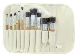 eta ultra natural goat hair premium makeup brush set