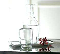 bedside water carafe water carafe with glass water carafe with glass on top vintage bedside water bedside water carafe bedside carafe with glass