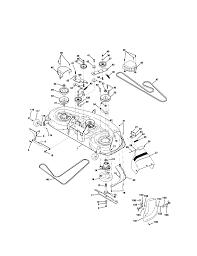 Craftsman tractor mower deck parts