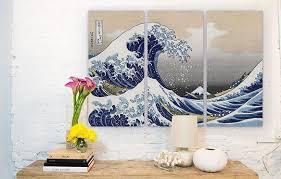 Beaches & Mountains; 3-Piece Wall Art Canvas Artwork