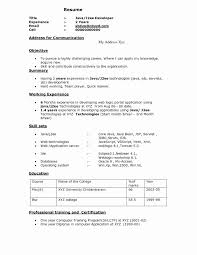 ... Software Developer Resume Template Lovely Awesome Collection Of 6  Months Experience Resume Sample In ...