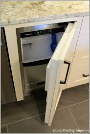 Pebble Ice Machine Built In Ice Machine To Replace Trash Compactor Kitchen Dining