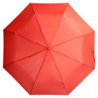 <b>Зонт складной Unit</b> Basic, красный для нанесения логотипа ...