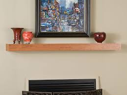 Wood fireplace mantels shelves Wall Mount Fireplace Shop All Bedford Mantel Shelves View Photos Shown In Poplar Stain Grade With Cherry Stain Mantels Direct Bedford Custom Fireplace Mantel Shelf