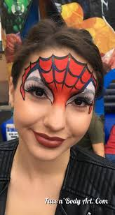 spider woman face painting connect with me like me shawna del real follow me shawnadelreal tweet me shawnadel real watch me shawna d makeup
