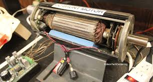 the electric motor edison tech center the dc shunt motor is wired so that the field coil is connected in parallel the armature both windings get the same voltage
