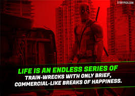 Deadpool Quotes Adorable 48 Epic Quotes By Deadpool That Prove He Is The Most Badass And