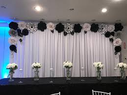 Paper Flower Wall Rental Rent Only Paper Flower Backdrop Giant Paper Flowers Wall Paper Flower Wall Wedding Wall Wedding Arch