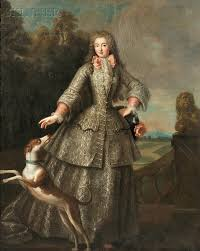 french school th century full length portrait of an  french school 18th century full length portrait of an aristocratic w a dog
