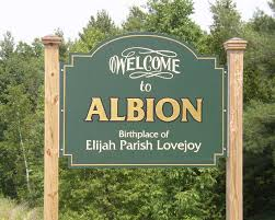 Image result for albion maine map