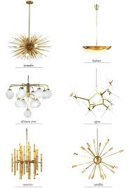 modern gold chandelier modern chandeliers round up smitten studio vintage modern gold and crystal mini chandelier