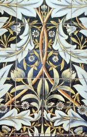 Arts And Crafts Decorative Tiles William Morris Tiles in Arts and Crafts Style Arts and Crafts 74