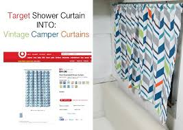 camper shower curtain curved shower curtain rod for camper