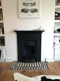 fireplace hearth tile dining room hearth could be re tiled in black and white as cohesive fireplace hearth tile