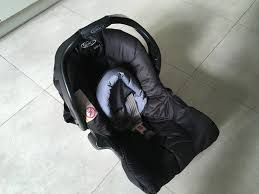 graco junior baby car seat as new with instructions