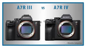 sony a7r iii vs a7r iv the 10 main