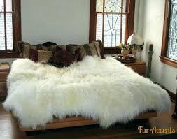 fur throw rug sheepskin throw rug sheepskin faux fur area rug thick sheepskin fake fur