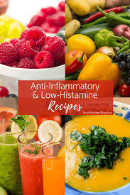 anti inflammatory and low histamine