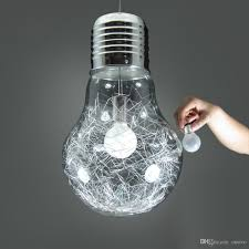 Giant Light Bulb Lamp Discount Stylish Big Bulb Dining Room Pendant Lamp New Modern