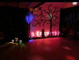 halloween party lighting. halloween party in the garage use construction black trash bags cut open lighting d