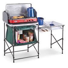 Camp Kitchen Guide Gearar Deluxe Camp Kitchen 581526 Tables At Sportsmans Guide