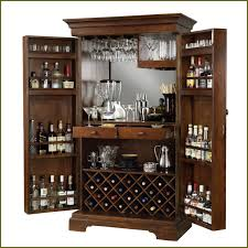 awesome brown liquor cabinet ikea made of wood with swivel door for home bar room furniture bar room furniture home