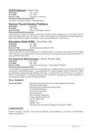 Employment Resume Sample Resume Sample Source