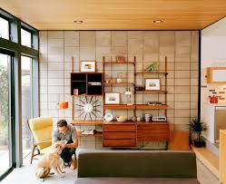 Teak Living Room Furniture Jake Stangel Mid Century Modern Living Room Danish Teak Wall