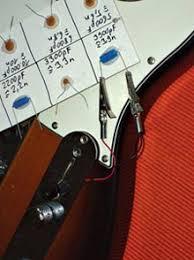 auditioning tone capacitors