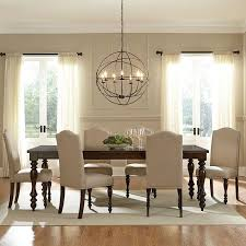i thought was completely set on the type of chandelier wanted within dining table design 4