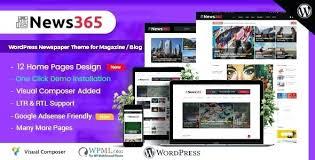 Website Template Newspaper Blog Template Newspaper Theme For Magazine Blog Adsense